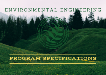 Environmental Engineering Program Specifications
